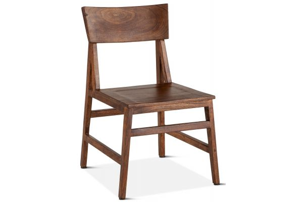 "Home Trends & Design London Loft 19"" Walnut Dining Chair - FLL-DC19WN"