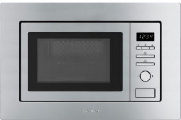 "Smeg 24"" Stainless Steel Built-In Microwave - FMIU020X"