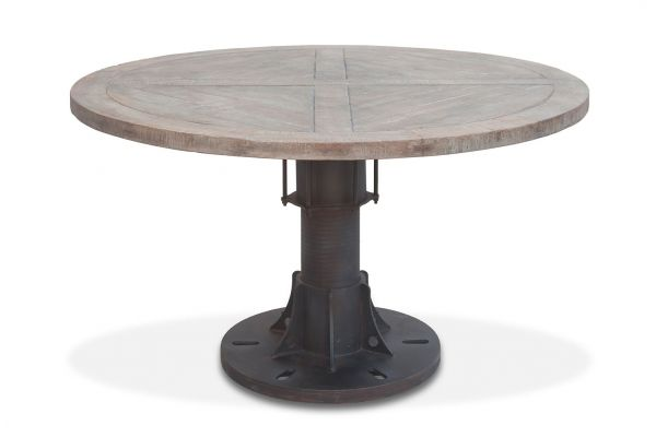 """Large image of Home Trends & Design Old Mill 54"""" Round Dining Table - FOM-RD54"""