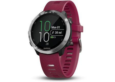 Garmin Forerunner 645 Cerise Fitness Smartwatch With Music - 010-01863-21