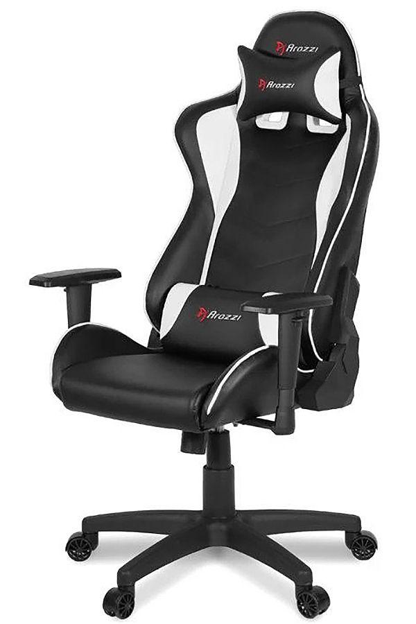 Remarkable Arozzi White Forte Gaming Chair Inzonedesignstudio Interior Chair Design Inzonedesignstudiocom