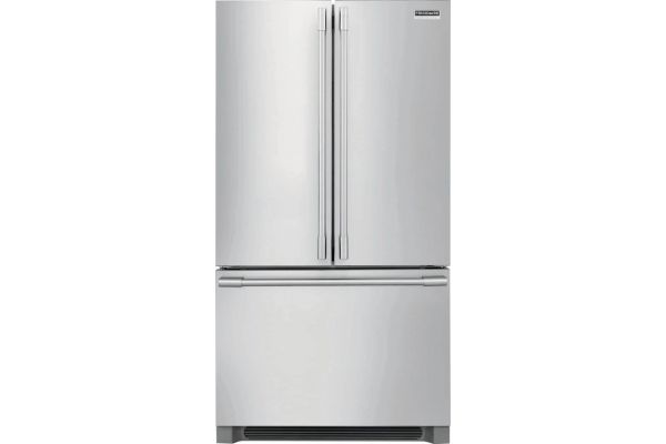 Large image of Frigidaire Professional 22.3 Cu. Ft. Stainless Steel French Door Counter-Depth Refrigerator - FPBG2278UF