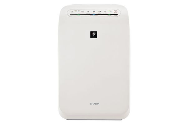 Sharp White Plasmacluster Ion Air Purifier With True HEPA - FPF60UW