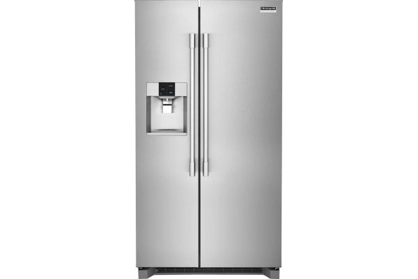 Large image of Frigidaire Professional 22 Cu. Ft. Stainless Steel Counter-Depth Side-By-Side Refrigerator - FPSC2278UF