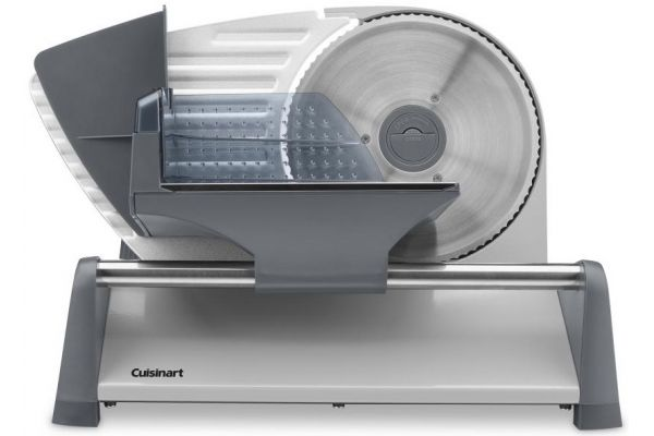 """Large image of Cuisinart Stainless Steel 7.5"""" Food Slicer - FS75"""