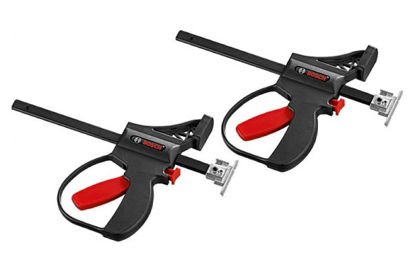 Large image of Bosch Tools Track Quick Clamps (2 Piece) - FSNKZW