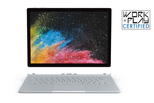"Microsoft Surface Book 2 15"" Silver 1TB i7 Laptop Computer - FVH-00001"