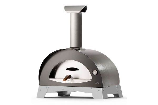 Alfa Ciao M Silver Top Wood Fired Pizza Oven - FXCM-LGRI-T