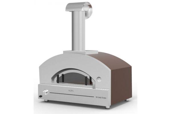 Alfa Stone Copper Top Outdoor Pizza Oven - FXSTONE