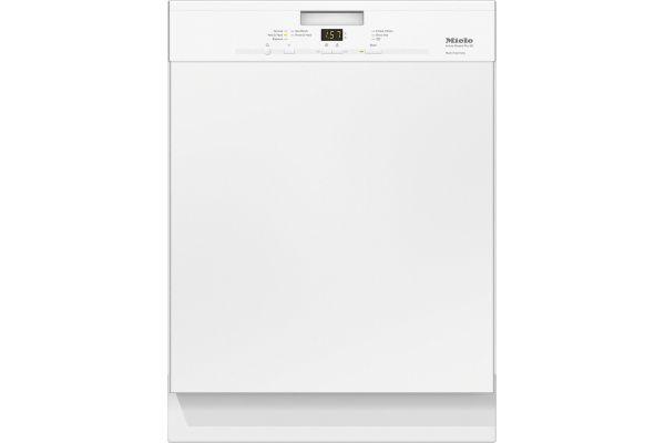 Large image of Miele Pre-Finished White Classic Plus Dishwasher - 10562870