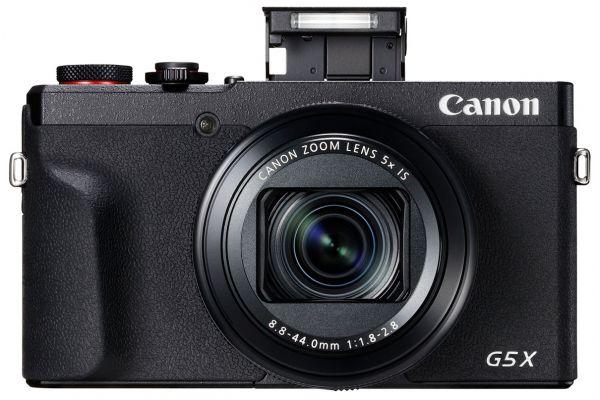 Large image of Canon PowerShot G5 X Mark II Black Digital Camera - 3070C001