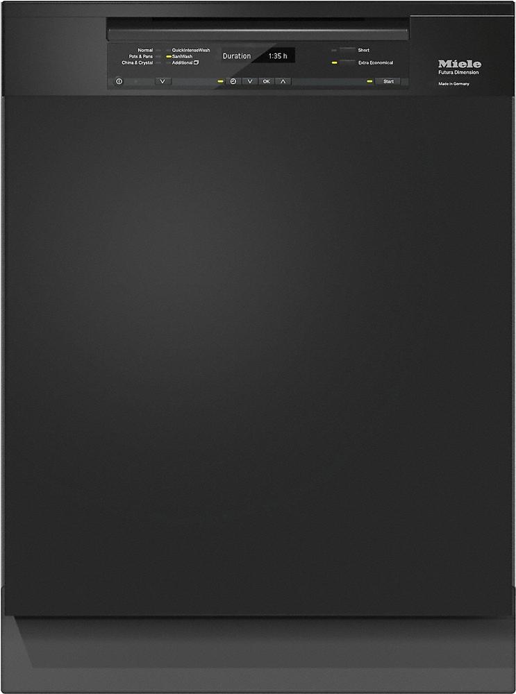 Miele Pre Finished Black Built In Dishwasher G 6745 Scu Bk