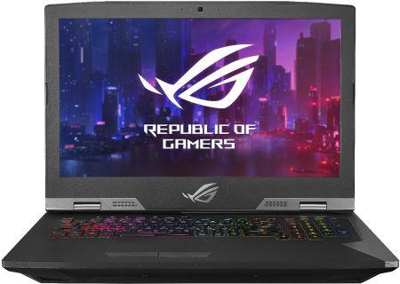 "Asus ROG Titanium 17.3"" Gaming Laptop i7-8750H 16GB RAM 1TB Hybrid HD + 512GB SSD, NVIDIA GeForce RTX 2080 - G703GX-XS71"