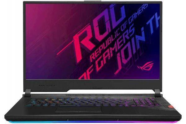 "Large image of Asus ROG Strix Scar 17 17.3"" Gaming Laptop Intel i7-10875H 16GB RAM 1TB SSD, NVIDIA GeForce RTX 2070 Super - G732LWSDS76"