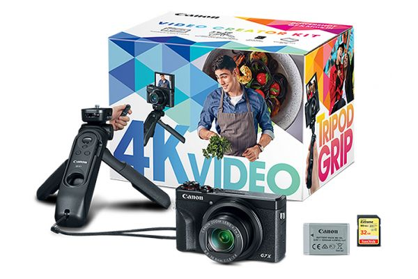 Large image of Canon PowerShot G7 X Mark III Video Creator Kit - 3637C026