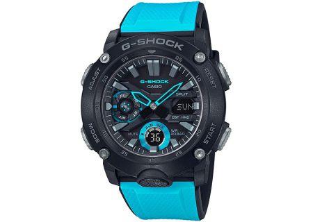 Casio G-Shock Carbon Core Guard Blue Watch - GA-2000-1A2CR