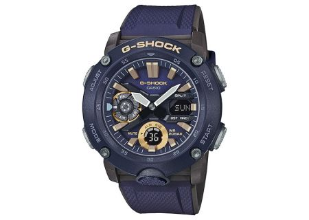 Casio G-Shock Carbon Core Guard Navy Watch - GA-2000-2ACR
