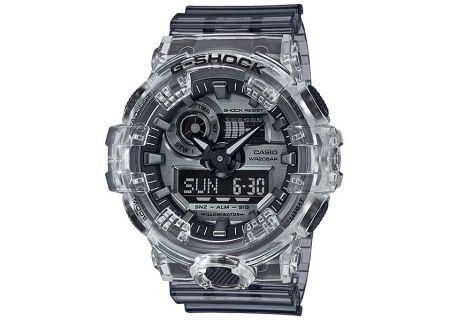 Casio G-Shock Clear Skeleton Watch - GA-700SK-1ACR