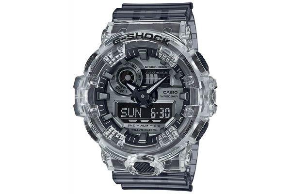 Large image of G-Shock Clear Skeleton Watch - GA-700SK-1ACR