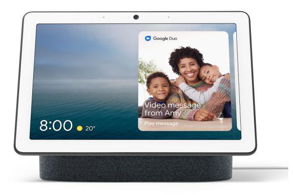 Large image of Google Charcoal Nest Hub Max - GA00639-US