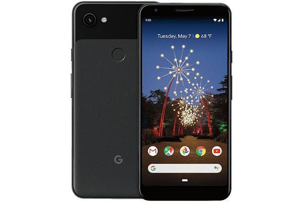 Large image of Google Pixel 3a XL 64GB Just Black Unlocked CDMA+GSM* Phone - GA00664-US