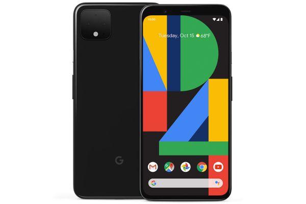 Large image of Google Pixel 4 XL 128GB Just Black Unlocked CDMA+GSM* Phone - GA00677-US