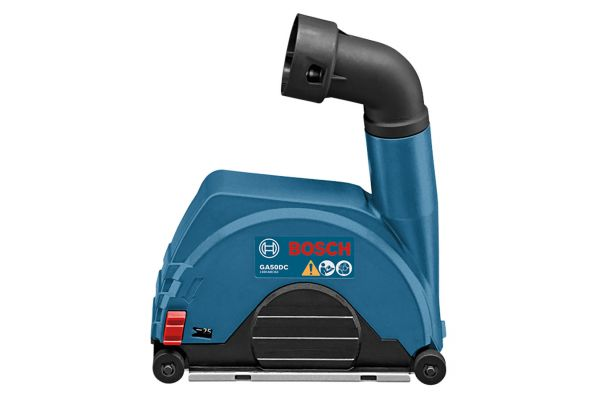 """Large image of Bosch Tools 4.5"""" - 5"""" Small Angle Grinder Dust Collection Attachment - GA50DC"""