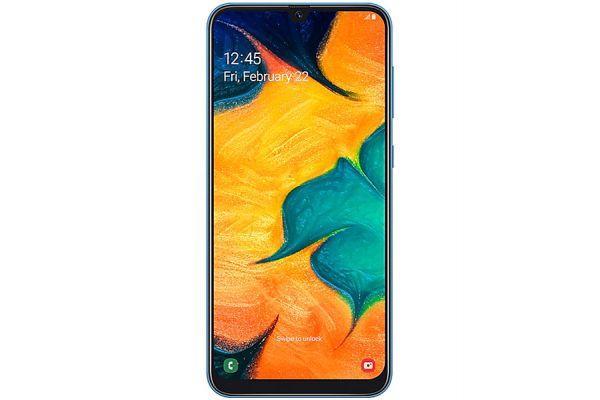 Samsung Galaxy A30 Duos Blue 32GB Unlocked GSM Phone - SM-A305GZBKTPA