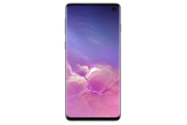 Samsung Galaxy S10 Prism Black 128GB Unlocked CDMA+GSM* Phone - SM-G973UZKAXAA