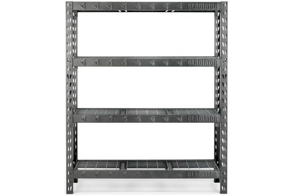 "Large image of Gladiator Garageworks 60"" Hammered Granite Rack Shelf - GARS604TEG"