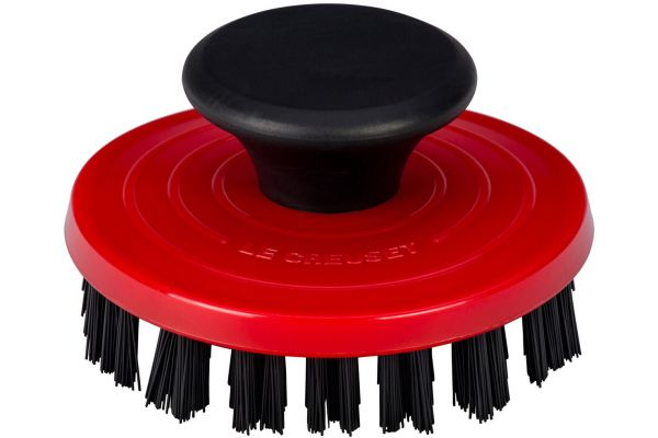 Large image of Le Creuset Cerise Grill Pan Brush - GB100-67