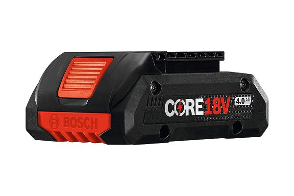 Large image of Bosch Tools 18V CORE18V Lithium-Ion 4.0 Ah Compact Battery - GBA18V40 - GBA18V40