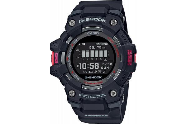 Large image of G-Shock GBD-100 Series Digital Black Mens Watch - GBD100-1