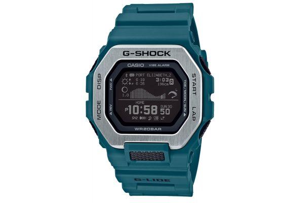 Large image of G-Shock Teal G-LIDE Mens Watch - GBX1002