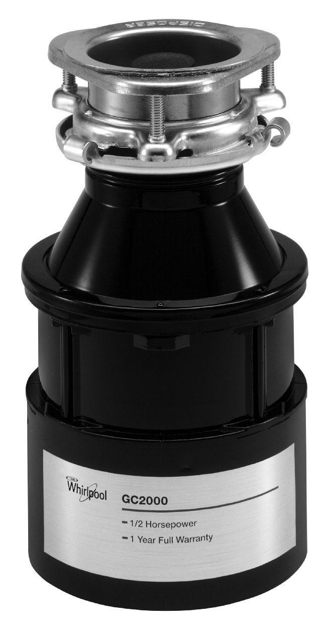 Whirlpool Black Garbage Disposal Gc2000xe Abt