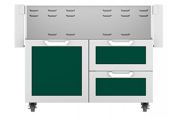 """Large image of Hestan 42"""" Grove Door And Drawer Tower Cart - GCR42-GR"""