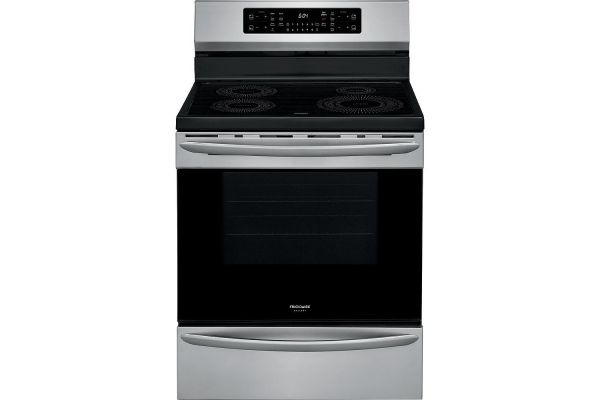 "Large image of Frigidaire Gallery 30"" Stainless Steel Induction Range With Air Fry - GCRI3058AF"
