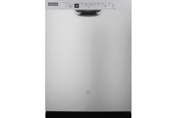 "Large image of GE 24"" Stainless Steel Hybrid Built-In Dishwasher - GDF640HSMSS"
