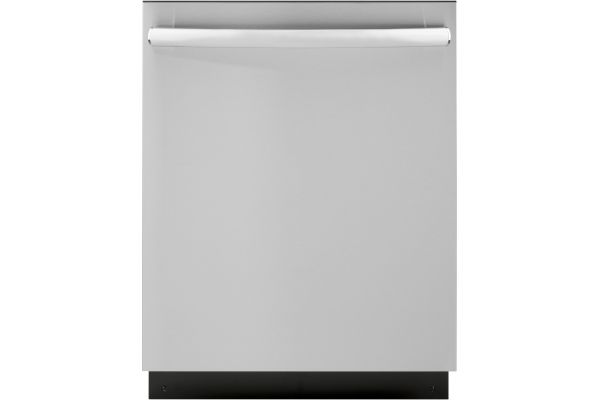 """Large image of GE ADA Compliant 24"""" Stainless Steel Dishwasher With Sanitize Cycle - GDT226SSLSS"""