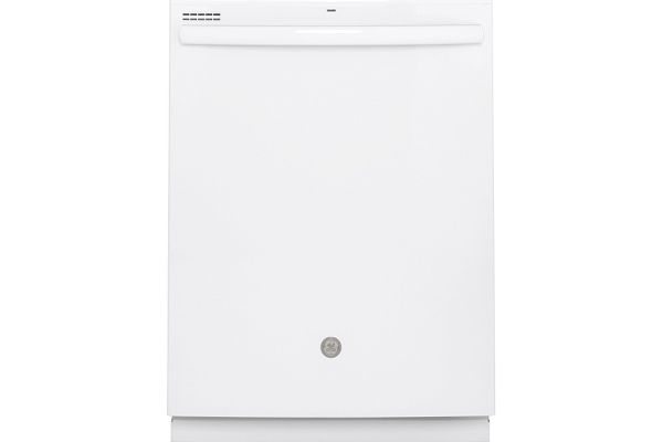"""Large image of GE 24"""" White Built-In Dishwasher - GDT530PGPWW"""