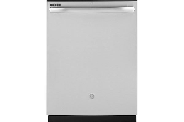 """Large image of GE 24"""" Stainless Steel Top Control Dishwasher With Sanitize Cycle & Dry Boost - GDT530PSPSS"""