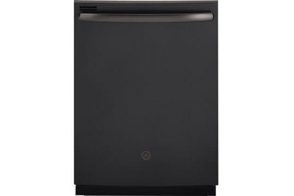 """Large image of GE 24"""" Black Slate Built-In Dishwasher - GDT605PFMDS"""