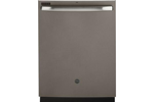 """Large image of GE 24"""" Slate Built-In Dishwasher - GDT630PMMES"""