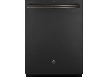 """GE 24"""" Black Slate Built-In Dishwasher - GDT695SFLDS"""