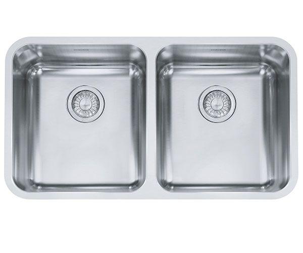 Franke Grande Stainless Steel Double Bowl Kitchen Sink