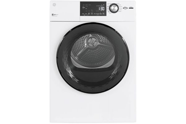 Large image of GE 4.3 Cu. Ft. White Electric Dryer - GFD14ESSNWW
