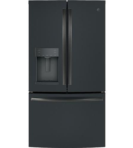 Ge Profile Black Slate French Door Refrigerator Gfd28gelds