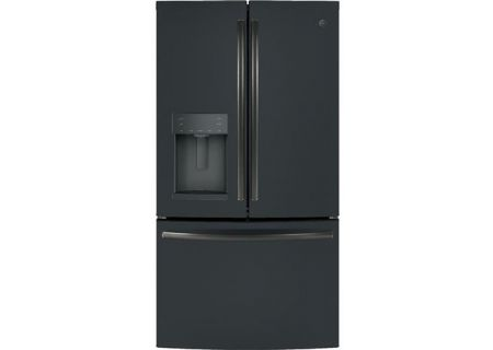 GE Profile Black Slate French-Door Refrigerator - GFD28GELDS
