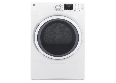 GE White 7.5 Cu. Ft. Front Load Electric Dryer - GFD43ESSMWW