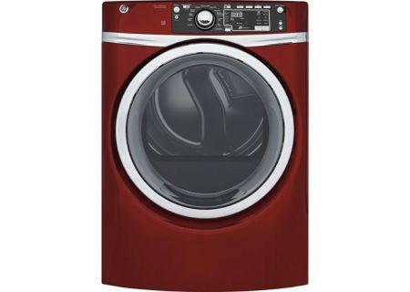 GE - GFD48ESPKRR - Electric Dryers